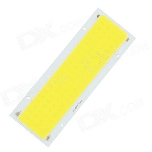 20W 1500lm 6500K 80-COB LED White Light Module - White + Beige (DC 12~14V)