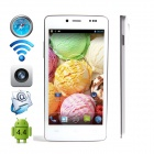 "CUBOT P10 Dual-core Android 4.2 WCDMA Bar Phone w/ 5.0"" IPS QHD, 8GB ROM, Wi-Fi, GPS - White"