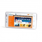 "CUBOT P10 double-core Android 4.2 WCDMA Bar Phone w / 5.0 ""IPS QHD, ROM de 8 Go, Wi-Fi, GPS-Blanc"