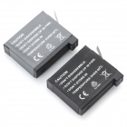 3.8V Li-ion Battery for GoPro Hero 4 - Black (2PCS, 1230mAh, 1160mAh)