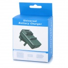 2-Slot Battery Charger w/ Micro USB / Mini USB for GoPro 4 - Black