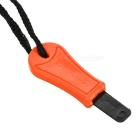 Wilderness Survival Fire Sparkle + Blade Cutter Tool - Orange (L)