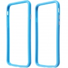 "Protective Plastic Bumper Frame Case for IPHONE 6 4.7"" - Blue"