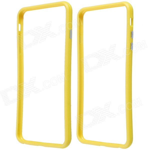 Protective Plastic Bumper Frame Case for IPHONE 6 Plus - Yellow protective plastic bumper frame for iphone 6 4 7 yellow