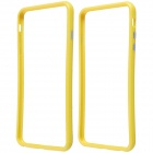 Protective Plastic Bumper Frame Case for IPHONE 6 Plus - Yellow