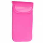 Stylish Protective Soft Neoprene Bag Pouch Case for IPHONE 6 4.7'' - Deep Pink