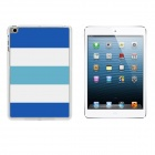 Navy Stripe Pattern Protective Plastic Back Case for IPAD MINI 1 / 3 / RETINA IPAD MINI 2