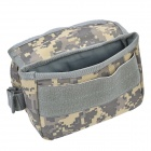 D28 600D Nylon Water-resistant Bike Bicycle Top Tube Saddle Bag - Camouflage
