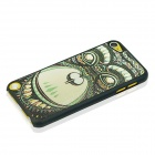 Orangutan Pattern Ultra-thin Protective PC Back Case for IPOD TOUCH 5 - Black + Green + Mulcolored