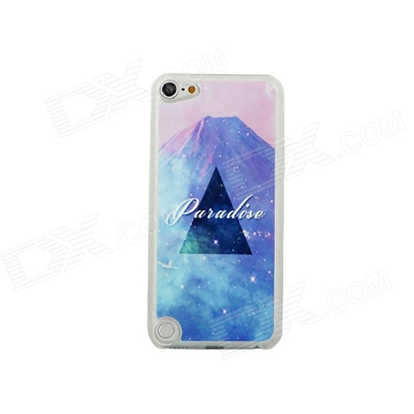 Mountain Pattern Glow-in-the-dark Ultra-Thin Protective PC Back Case Cover for IPOD TOUCH 5
