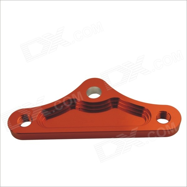 S1410137 Triangle Shaped Aluminum Alloy Muffler Bracket for Motorcycle - Reddish Brown