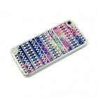 Ultra-Thin Glow-in-the-dark Patterned Protective PC Back Case Cover for IPOD TOUCH 5 - Multicolored
