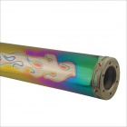 420mm Stainless Steel Motorcycle Exhaust Pipe for SUZUKI / HONDA / YAMAHA / KAWASAKI - Multicolored