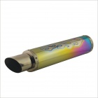 420mm Steel Motorcycle Exhaust Pipe for SUZUKI / HONDA / YAMAHA - Multicolored