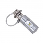 H3 30W Car Foglight White Light 6500K 380lm - Silver (DC 10~24V)