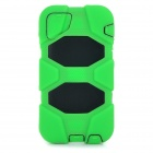 "Protective Silicone + PC Back Case Armor for IPHONE 6 4.7"" - Green + Black"