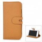"Removable Magnetic Flip-Open Case w/ Stand / Card Slot for IPHONE 6 4.7"" - Blown"