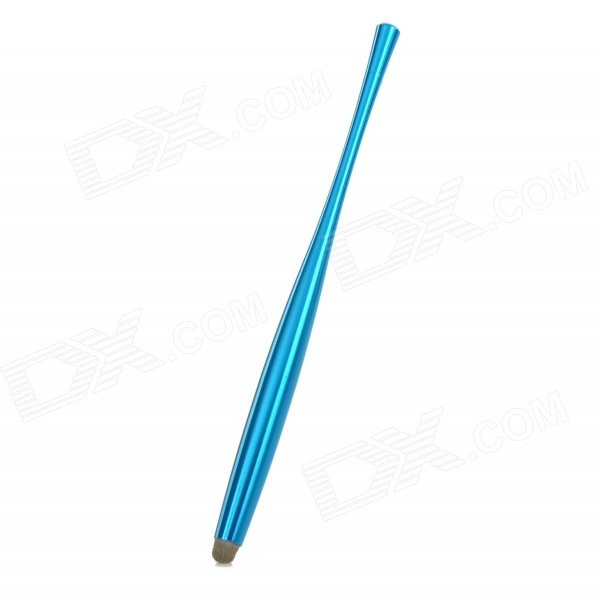 Aluminum Alloy Capacitive Screen Stylus Touch Pen for IPHONE / IPAD / IPOD - Blue