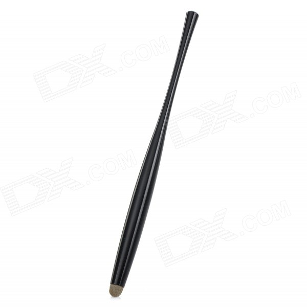 Aluminum Alloy Capacitive Screen Stylus Touch Pen for IPHONE / IPAD / IPOD - Black