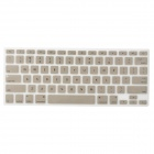 "Protective Ultra-Slim Laptop Keyboard Film Cover for MacBook Air 13"" / 13.3"" - Champagne Gold"
