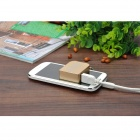 Mini Mobile 1800mAh Lithium Polymer Power Bank w / Keychain - Gold