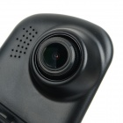 "4.3 ""Screen Dual-Lens 1 / 2,5"" CMOS 1.2MP Auto DVR videokamery w / 2-IR-LED / G-Sensor / TF - Black"