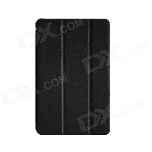Fashion PU Leather + ABS Flip Open Case w/ Stand / Magnet for Kindle Fire HD 7 - Black