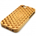 Circle Pattern Detachable Protective Wood Back Case for IPHONE 5 / 5S - Wood