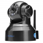 SunEyes SP-T01WP Wireless Pan/Tilt IP Camera w/ TF / IR CUT / 10-IR LED - Black (EU Plug)