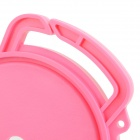 Universal 72mm / 77mm / 82mm linssinsuojus Holder Buckle SLR Camera - Pink