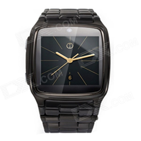 "HW02 1,54 ""dotykový displej Symbian GSM inteligentní Watch Phone w / Bluetooth, fotoaparát, quad-band - Black"