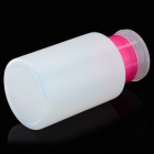 Professional Nail Polish Remover Press Bottle w/ Lock - Translucent White + Pink (180mL)