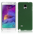 ENKAY Protective Plastic Back Case for Samsung Galaxy Note 4 N9100 - Deep Green