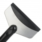 Car Cleaning Ice Snow Shovel Scraper - Black + Silver