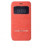 Baseus Flip Open PU + PC Case w/ Stand / Display Window for IPHONE 6 PLUS - Watermelon Red