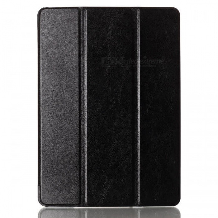 Protective PU Leather Case Stand w/ Auto Sleep for Ipad Air2- Black