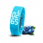 "Multifunctional 1"" LED USB Smart Bracelet Watch w/ 3D Pedometer & Sleep Monitor Functions - Blue"
