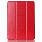 Protective PU Case Cover w/ Stand / Auto Sleep for IPAD AIR 2 - Red