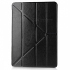 Protective PU Leather Case Cover Stand w/ Auto Sleep for IPAD AIR 2 - Black