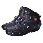PRO-BIKER A09003 Motorcycle Off-Road Racing Shoes - Black (Size 43)