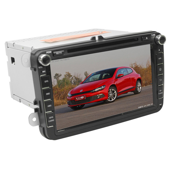 LsqSTAR 8 Capacitive Screen Android Car DVD Player w/ GPS / Wi-Fi / 1GB RAM / 8GB Flash for VW автомобильный dvd плеер wincen android 4 1 dvd vw golf 5 6 passat jetta tiguan touran skoda octavia seat altea