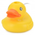 Cute Little Duck Shaped 5W USB Ultrasonic Air Humidifier - Yellow