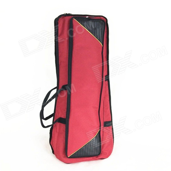 Oxford Fabric Instrument Storage Bag for Alto / Tenor Trombone - Purplish Red ellis faas milky lips l209 цвет l209 toffee beige