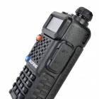 128-CH BAOFENG F8 + PVC doble banda Walkie Talkie w / FM / LED - negro