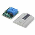 ZnDiy-BRY DC12V 4CH RF Wireless Controller + 4 Buttons Ultrathin RF Remote Control
