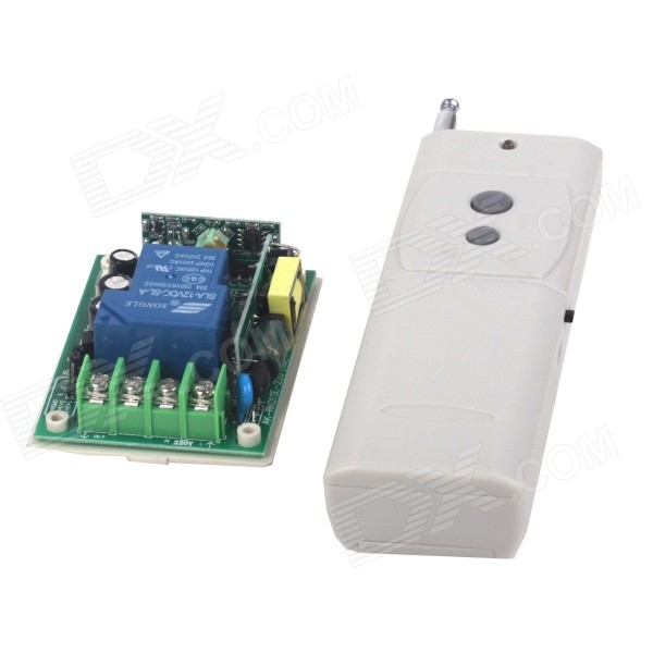 ZnDiy-BRY 1CH Learning Code Remote Control Switch + 2-Key Remote Controller
