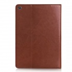PU couro caso completo corpo w / Card / Slot Money / Stand / Auto Sleep por IPAD AIR 2 - Brown
