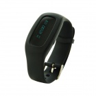 Bluetooth Smart Bracelet w/ Pedometer / Calorie Monitor - Black