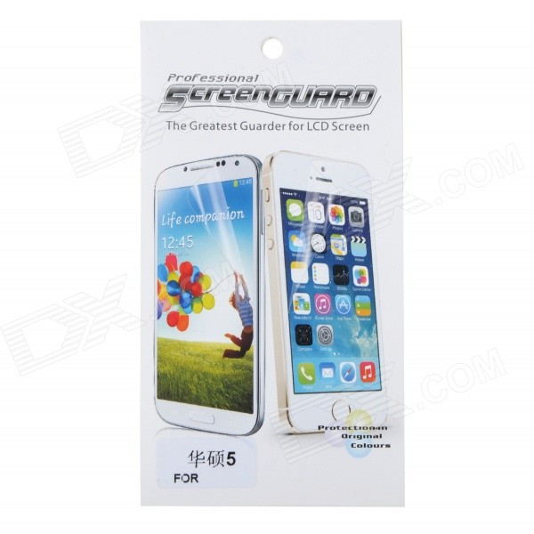 Protective PET Clear Screen Guard Film for Asus ZenFone 5 - Transparent