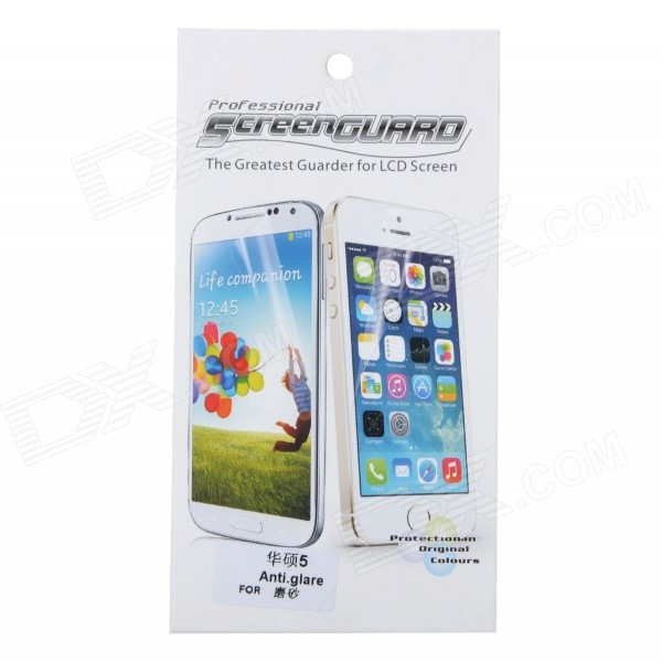 Protective PET Matte Screen Guard Film for Asus ZenFone 5 -  Transparent